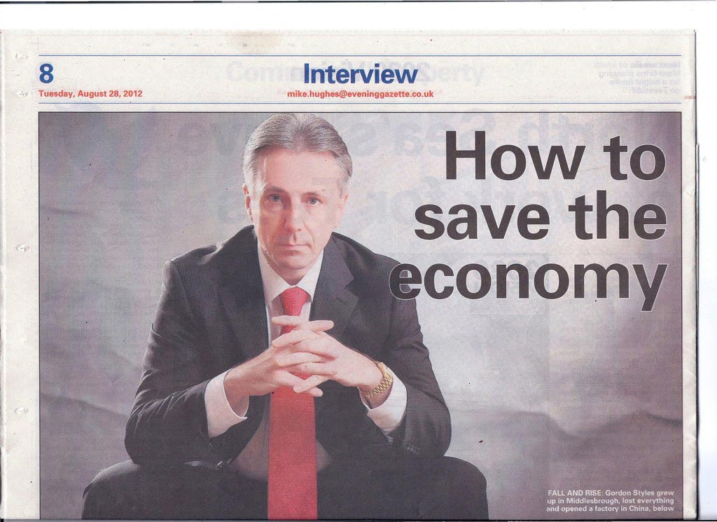 UK business man succeed in China