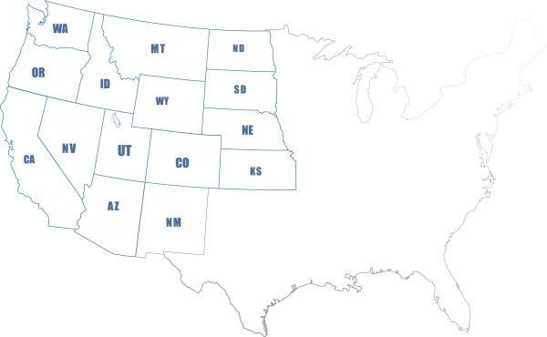 west region map