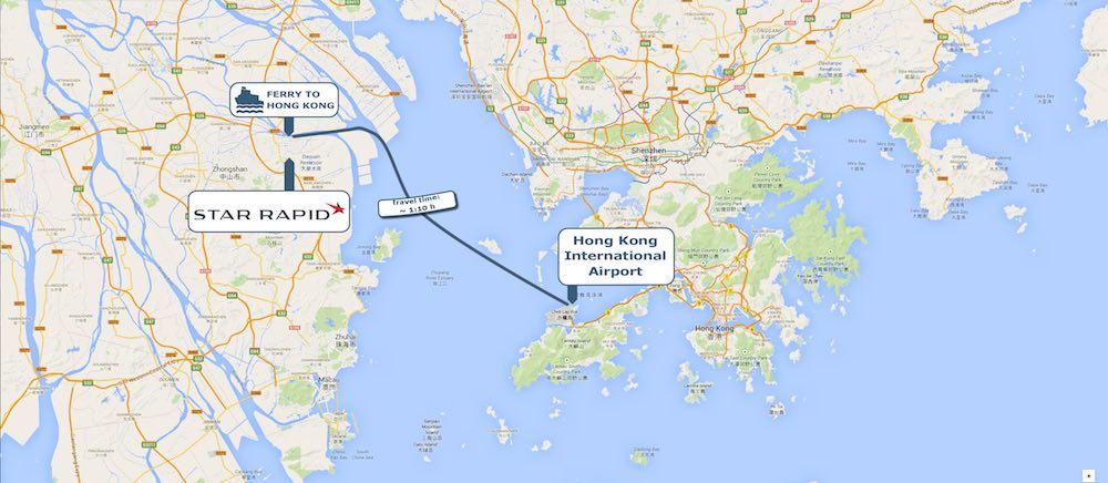 香港国际机场码头 - 中山