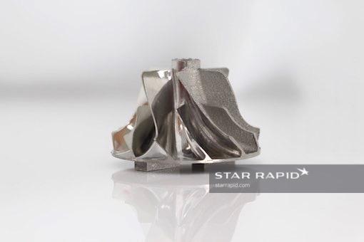 经过表面处理的3D金属打印