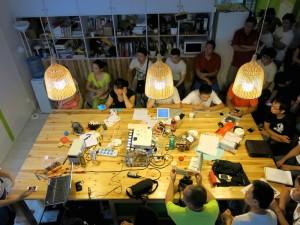 ChaiHuo event | Image Credit: rayshobby.net