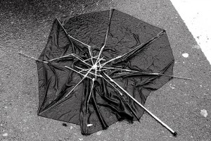 Broken Umbrella   Image Create: weirdwiltshire