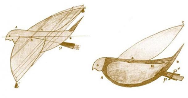 Steam Powered Pigeon | Image Credit: ancient-origins.net
