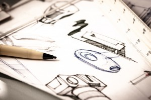 idea sketch of product design