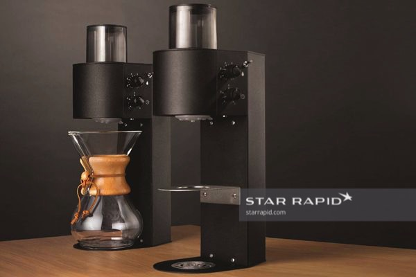 Coffee Reservoir with Plastic Injection Molded Parts